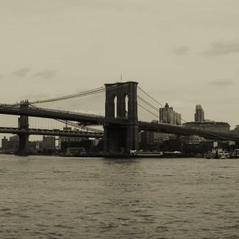 The Brooklyn Bridge (need I say?). NYC.