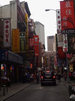 The beauty of Chinatown. NYC.