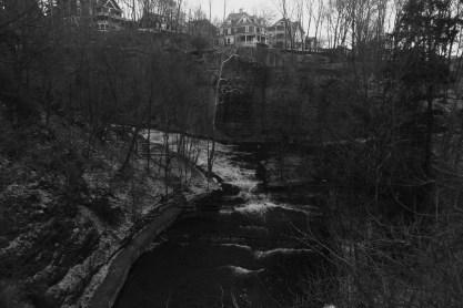 The waterfall I pass everyday.