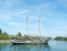 The Black Pearl--according to the locals