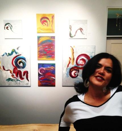 Gab at Art Show2