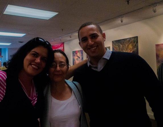 Svante Myrick, and my dear friend Patricia