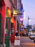 Friends. The bar I had frequented the most in Austin. No cover, $6-$7 whiskey, always great live blues.