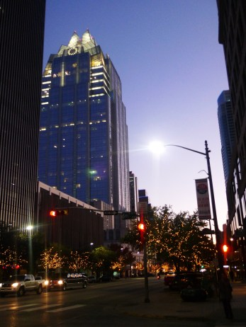 Downtown Austin, such a lovely place to be at night!