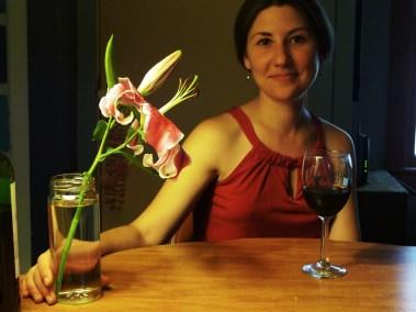 My former roommate & great friend Julia