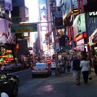 Somewhere in Manhattan