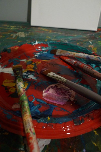 Brushes & Paint