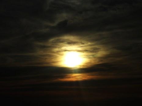 Moon at the Bahamas