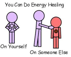 I do energy healing on myself (many different kinds)