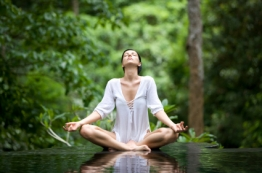 Water, Meditation, Nature all in one!