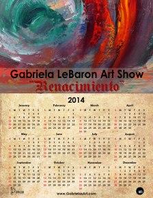 Renacimiento 2014 Calendar