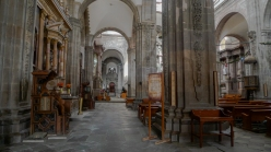 One of the cathedrals in Guanajuato