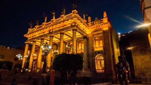 Juarez Theater, Guanajuato