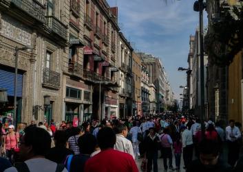 Mexico City Crowd