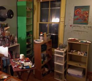 Messy Studio 3-22-15